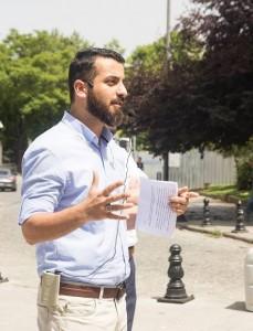 Genç Hareket Günışığı Gençlik Başkanı Seyfullah Şenel