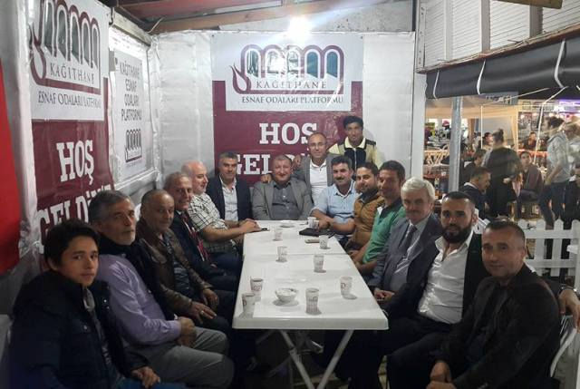 Kağıthane Esnaf Odaları Platformu Ramazan Boyunca Esnafa ve Halka Hizmet Veriyor