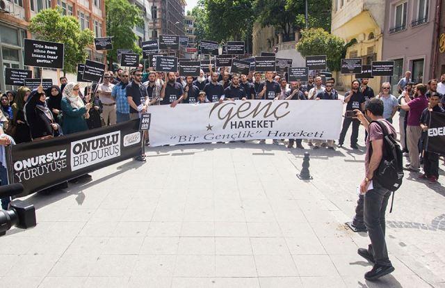 LGBT Onursuzluk Yürüyüşüne, Temiz İnsanlardan Onurlu Bir Duruş