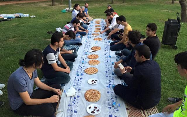 Türkiye'nin En İsrafsız İftarı Kağıthane'de Yapıldı