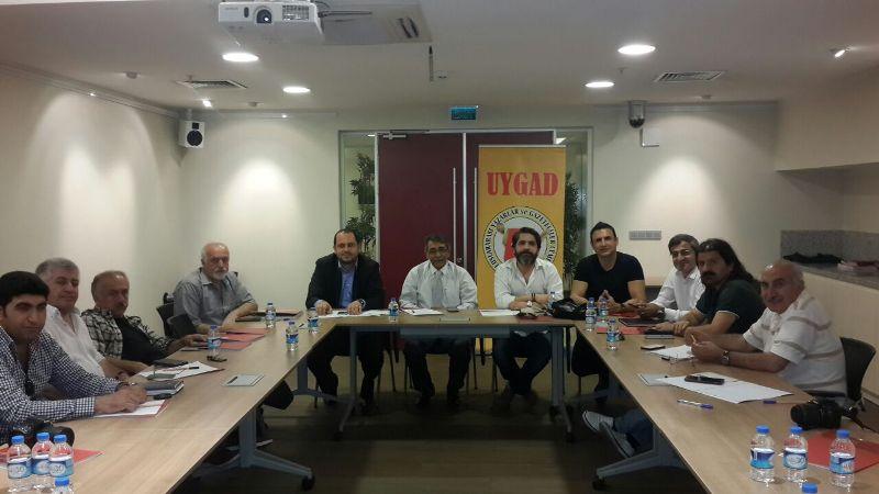 UYGAD Yönetim Kurulu İftar Yemeğinde Buluştu