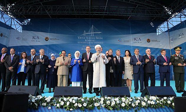 Diyanet İşleri Başkanı Mehmet Görmez Dua