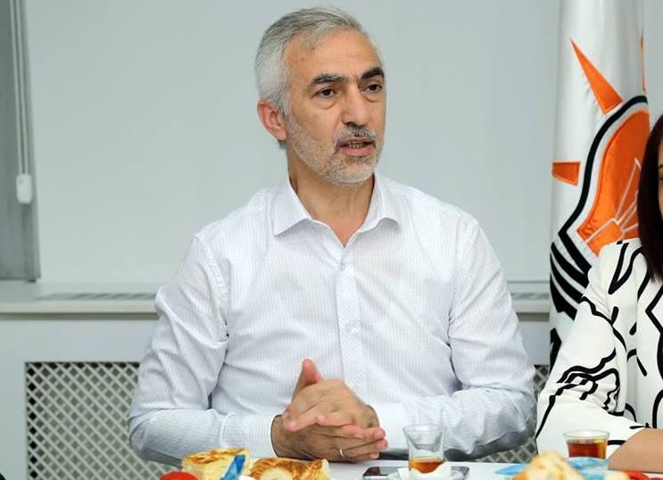 Siyasi Partiler Bayramlaşma Kağıthane Belediye Başkanı Fazlı Kılıç