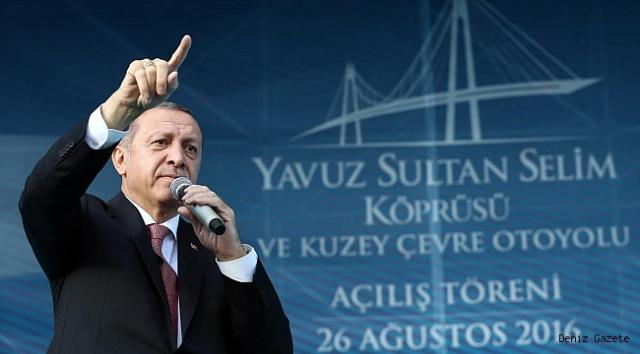 Yavuz Sultan Selim Köprüsü Recep Tayyip Erdoğan